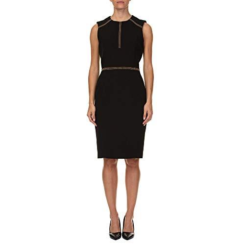 Versace Collection Damen G35758g603996g1008 Schwarz Polyester Kleid