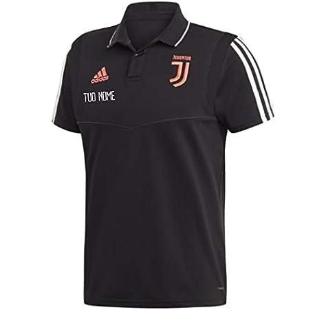 Dybala, Ronaldo, HIGUAIN, Chiellini, DELIGT MAESTRI DEL CALCIO Polo Rappresentanza Nera 2019//2020 Personalizzata Personalizzabile Juv JUVENTU