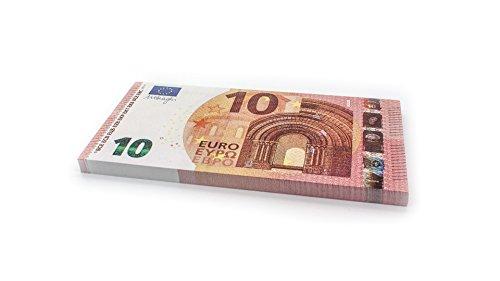 Cashbricks 75 x €10 Euro Spielgeld Scheine - vergrößert - 125{c84dd364a5b3693bce27e725e4eab56ad13712f7c6442ceb481403ee8150e612} Größe