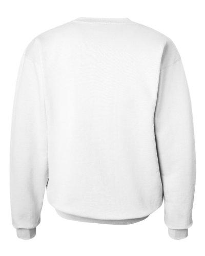 Broken Herz-Symbol auf American Apparel Fine Jersey Shirt Weiß