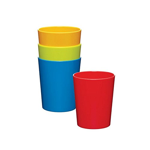 Price comparison product image Miniamo Bright Tumblers, Assorted Colours 4 per pack - Pack of 4