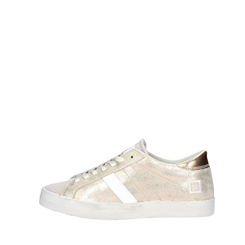 D.a.t.e. HILL LOW-35 Sneakers Femme Suède/nylon Or Or