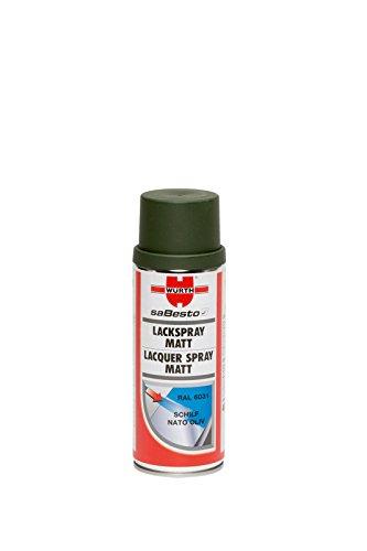 Lackierspray SCHILF-NATOOLIV Nitroalkydal-Qualität matt
