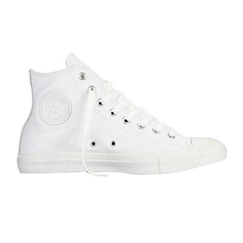 Converse Chuck Taylor All Star Adulte Mono Leather Hi, Unisex-Erwachsene Hohe Sneakers, Weiß (blanc), 38 -