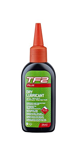 Atb-cross (Weldtite TF2Plus Schmiermittel mit Teflon, Oberflächenschutz fürs Fahrrad, TF2+ Dry Lube With Teflon Surface Protector, rot, 0.125 Litres)
