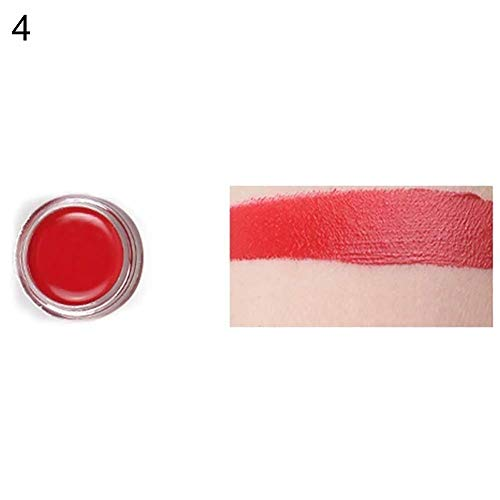 Kostüm Gesicht Malen Skelett - GSYClbf Professionelle Gesicht & Körper Ölgemälde Pigment 12 Farben 10g Gesicht Körper Malen Kunst Kostüm Schönheit Make-Up Tattoo Halloween Party Pigment 4#