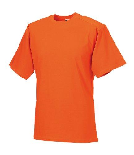 Russell AthleticHerren T-Shirt Orange - Orange