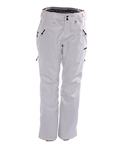 Zimtstern Damen Zlender Snow Pants, White, XS