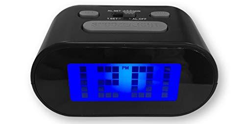 Vidal Regalos Reloj Despertador Digital Negro LED