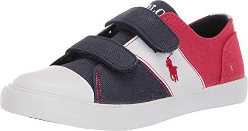 Ralph Lauren , Jungen Sneaker Blau Blu/Rosso/Bianco, Blau - Blu/Rosso/Bianco - Größe: 33 EU - Für Schuhe Ralph Lauren Jungen