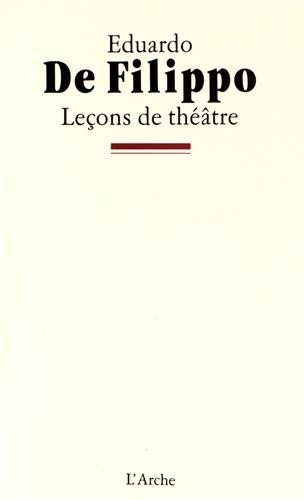 Leçons de théâtre