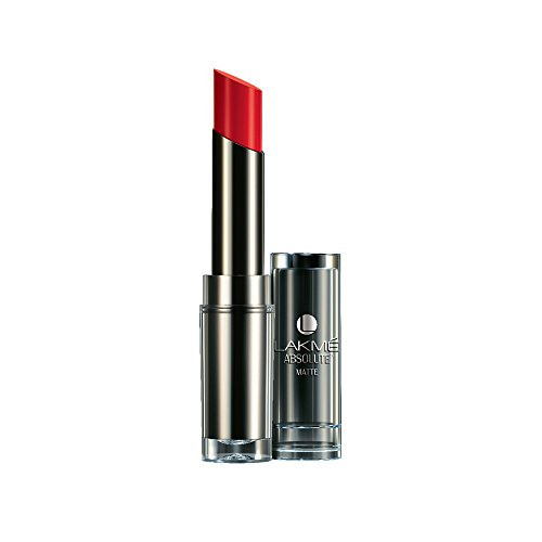 Lakme  Absolute Matte  Lipstick, Red Rush, 3.7 g