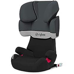 Cybex - Silla de coche grupo 2/3 Solution X-Fix, para coches con y sin ISOFIX, 15-36kg, desde los 3 hasta los 12 años aprox., Gris (Gray Rabbit)