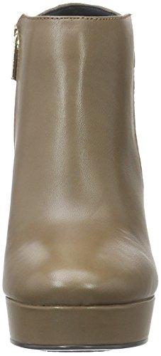 Tommy Hilfiger L1285ynn 2c, Bottes Classiques femme Marron - Braun (Mink 906)