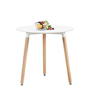 Runder Tisch Weiß   Deine-Wohnideen.de