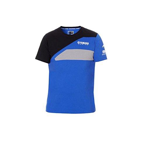 Yamaha camiseta manga corta (Yamaha Factory Racing Team Moto GP camiseta oficial Paddock 2018Team Yamaha