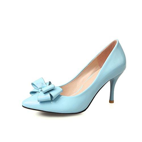 Unknown, Scarpe col tacco donna Blue