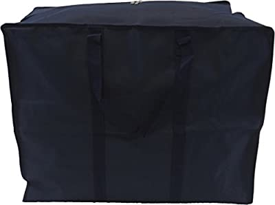Neusu Large Clothes Storage Bag - Heavy Duty 600D Polyester Material With 360-Degree Web Reinforced Handles - Versatile: Clothing, Bedding, Duvets, Pillows For Storage Or Travel produced by Neusu - quick delivery from UK.