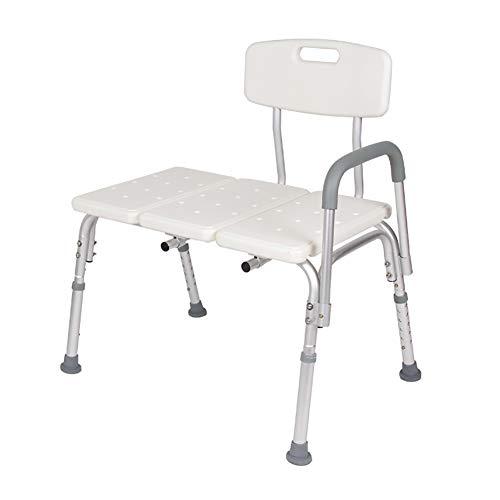 SUN RNPP Dusch- & Badestühle Duschhocker duschhilfe Stuhl mit höhenverstellbaren Beinen, badesessel mit rückenlehne, breiter Sitz, badewanne für behinderte, senioren
