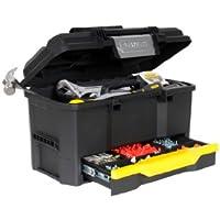 """Stanley 1-70-316 - Caja de herramientas stanley con autocierre y cajon 19"""" / 40,5 cm"""