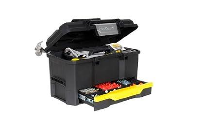 """STANLEY 1-70-316 - Caja de herramientas 19""""/40.5 cm con autocierre y cajon"""
