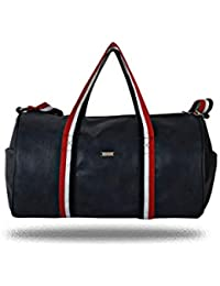 Red, Blue And White Striped 16 LTR Travel Duffel Bag/Cabin Bag