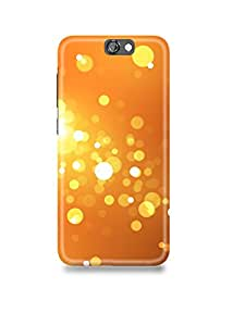 HTC One A9 Cover,HTC One A9 Case,HTC One A9 Back Cover,Golden Lights HTC A9 Mobile Cover By The Shopmetro-7703