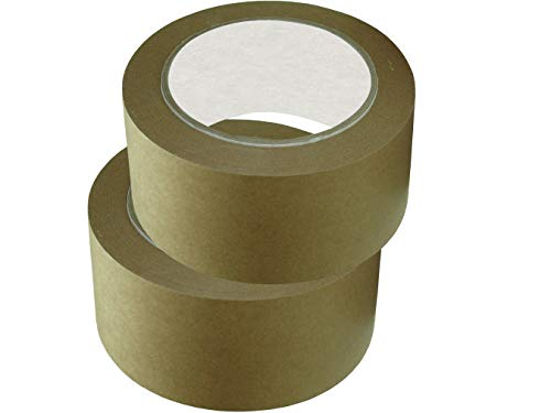 3 Rollen Papierklebeband. (50mm x 50 lfm) Klebeband. Paketband. Packband. Paketklebeband. Papier-klebeband.