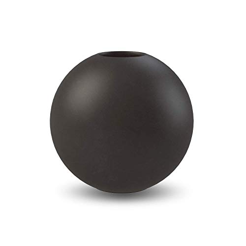 Cooee Design Ball Vase 10cm Black