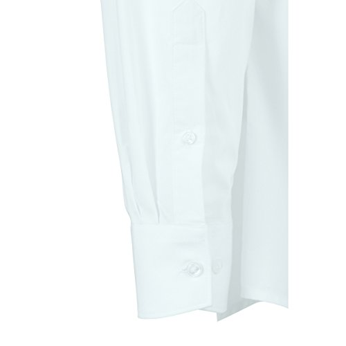 JAMES & NICHOLSON -  Camicia classiche  - Basic - Maniche lunghe  - Uomo Bianco