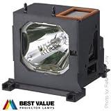 Lampe de remplacement LMP-H200 pour SONY VPL-VW40 VPL-VW50 VPL-VW60 VPL-VW80 Projecteurs, Alda PQ module de lampe avec culot