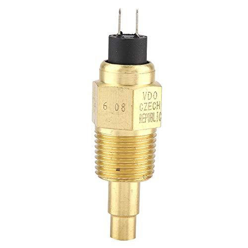 Zerone 1Pcs Hohe Zuverlässigkeit 1 / 2NPT Wasser VDO Temperatursensor Für Ölwasser-Messgerät