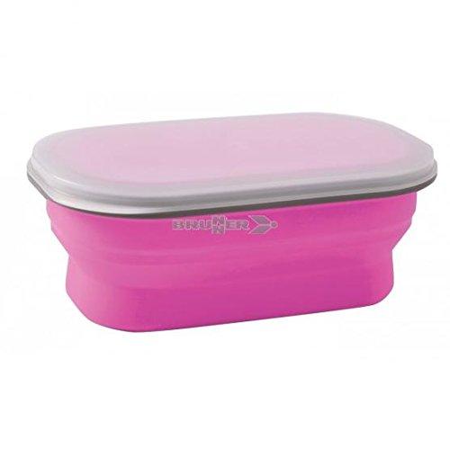 Preisvergleich Produktbild Brunner klappbar Snack Box Brotdose, 0.6L, klein, PINK