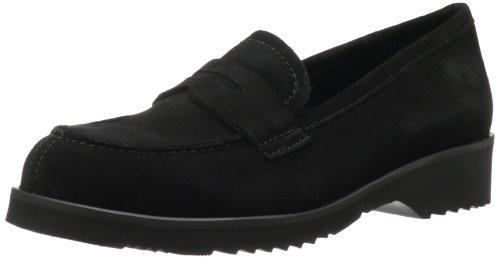 La Canadienne Frauen Flache Schuhe Schwarz Groesse 6 US /37 EU