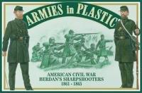 Preisvergleich Produktbild American Civil War 1861-1865 Berdan's Sharpshooters (20) 1 / 32 Armies in Plastic