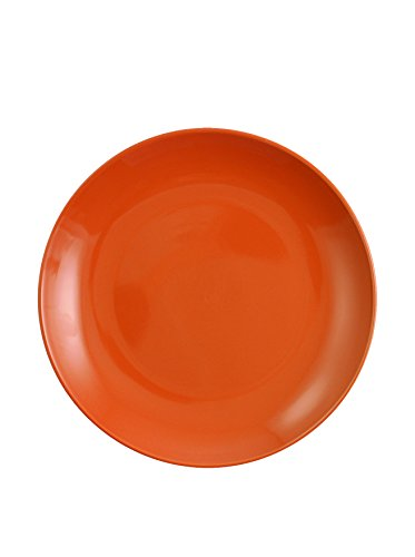 Villa d'Este Home Tivoli etnochic Color Lot DE 6 Assiettes Plates Porcelaine Lot DE 6 Assiettes à Dessert Arancio