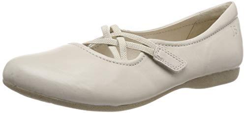iona 39 Geschlossene Ballerinas, Beige (Creme), 41 EU ()