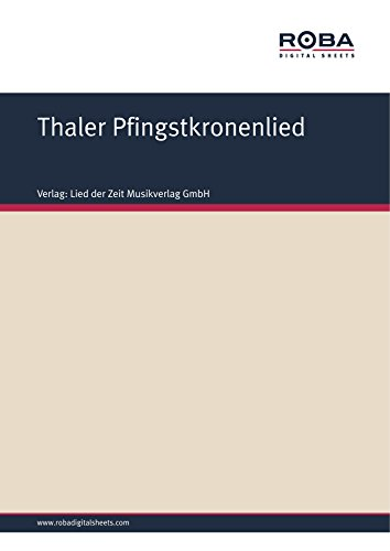 thaler-pfingstkronenlied-harzer-lied-german-edition