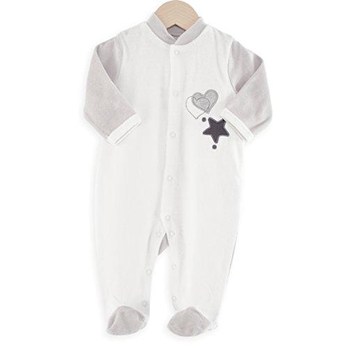 Kinousses pijama bebé estrella & corazón
