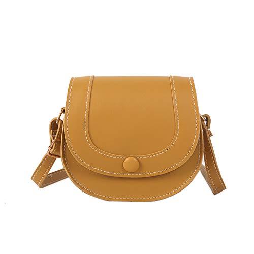 Calvinbi Taschen Damen Simple Design sinnvoll Satteltasche Fashion Schultertasche Messenger Bag -