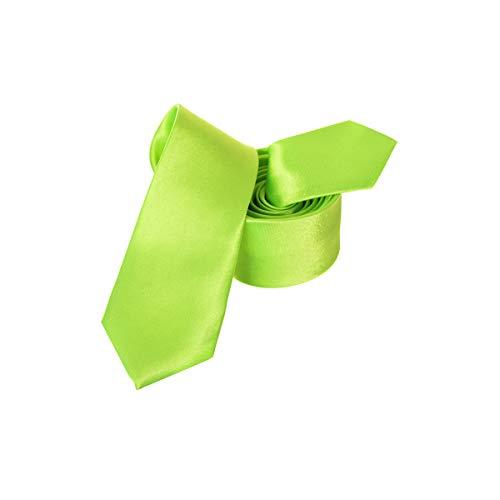 Trimming Shop Krawatte Weich Polyester für Formelle Kleidung Hochzeit Ball Feier, Classic Design - hellgrün, 5cm Breite