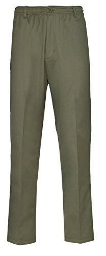 Champion - Pantalon - Chino - Homme Multicolore Bigarré Multicolore - Vert olive