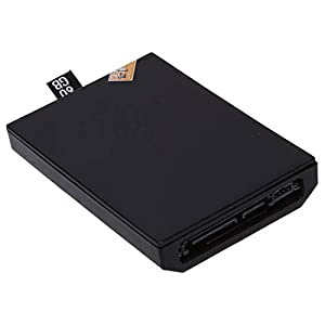 TOOGOO(R) Internal Festplattenlaufwerk fuer Xbox 360 (60GB, Schwarz)
