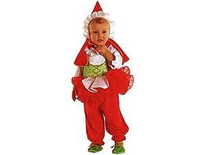 Unbekannt Aptafêtes-cs15412/12-Disfraz-Pequeño Caperucita Roja-tamaño 12Meses