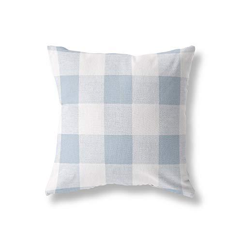 Buffalo Check Kissenbezug Premier Prints Anderson Cashmere Blue Kissenbezug Auf Bestellung mit unsichtbarem Rei?Verschluss Check Cashmere