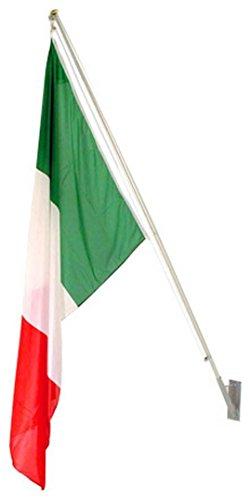 Kit esterno 1 posto completo di bandiera italia cm 100x150