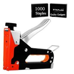 guilty-gadgets-heavy-duty-metal-staple-gun-tool-1000-staples-easy-squeeze-gun