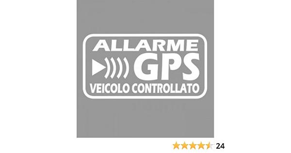 allarme antifurto R047 per bicicletta macchine da costruzione moto auto 6 adesivi GPS per interni o esterni camion vita interna