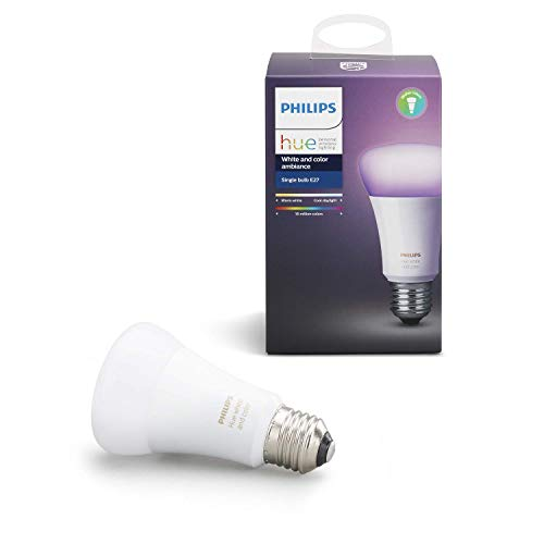 Philips Hue Ampoule connectée White & Color E27 -...