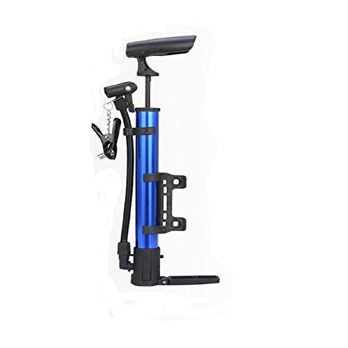 Xbeast Fahrrad-Standpumpe Tragbare Mini-Fahrradpumpe + Nadeladapter + Ballon-Aufblasadapter + Ersatz-O-Ring + Feste Krawatten - Geeignet für: Amerikanisches Ventil & Britisches Ventil